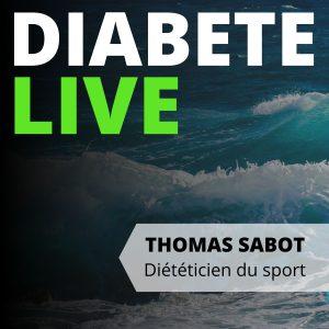 visuel du podcast diabète live perdre du poids